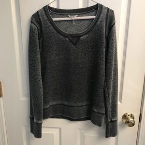 Buffalo size M dressy grey pullover with gems